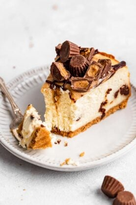 Peanut Butter Cup Cheesecake 5 277x416 - Peanut Butter Cup Cheesecake