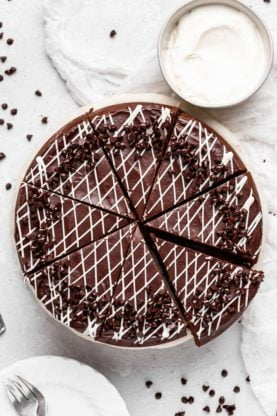 Chocolate Cheesecake 3 277x416 - THE BEST Chocolate Cheesecake