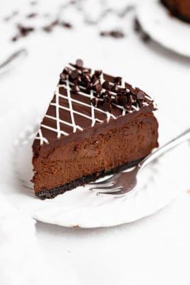 Chocolate Cheesecake 9 277x416 - THE BEST Chocolate Cheesecake