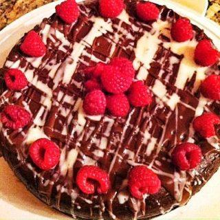 Quad Chocolate Cheesecake