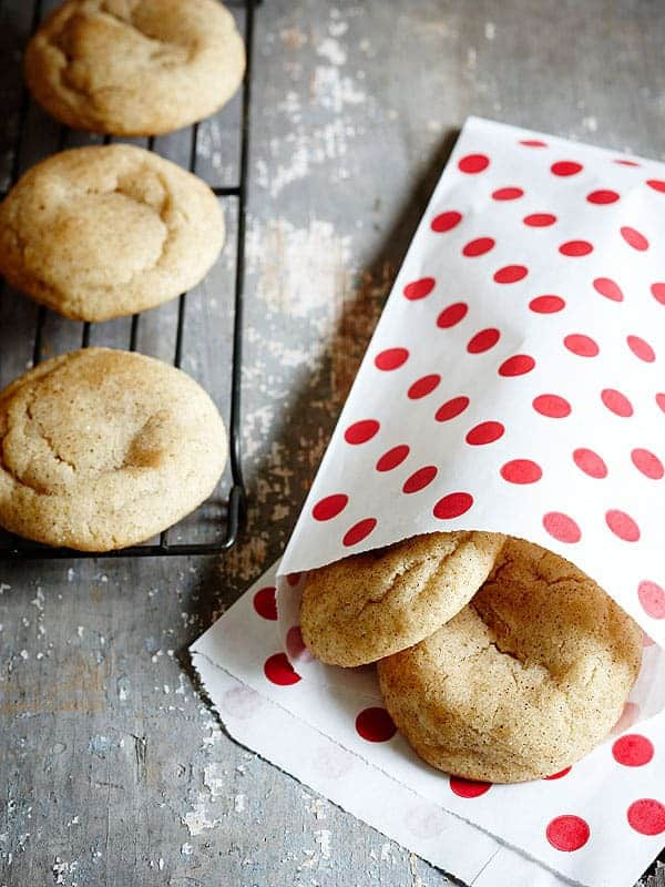 Chai Brown Butter Snickerdoodles | Grandbaby Cakes