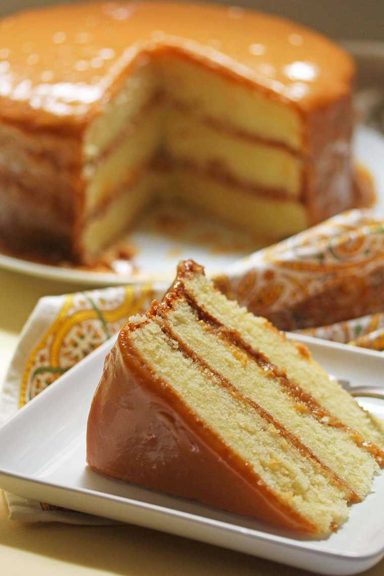 Real Deal Southern Caramel Cake Recipe Grandbaby Cakes