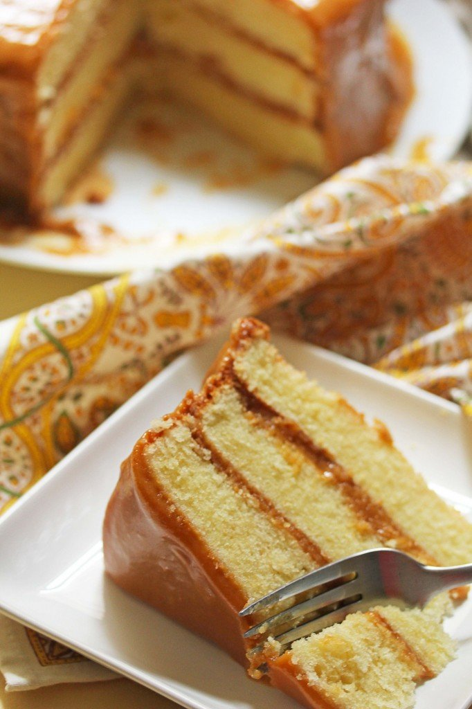 Real Deal Southern Caramel Cake Recipe - Grandbaby Cakes