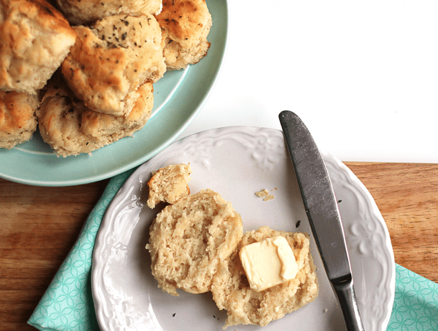 herb cheese biscuits by grandbaby cakes 4 - Big Mama's Biscuits Turned Up- Herb Cheese Biscuits