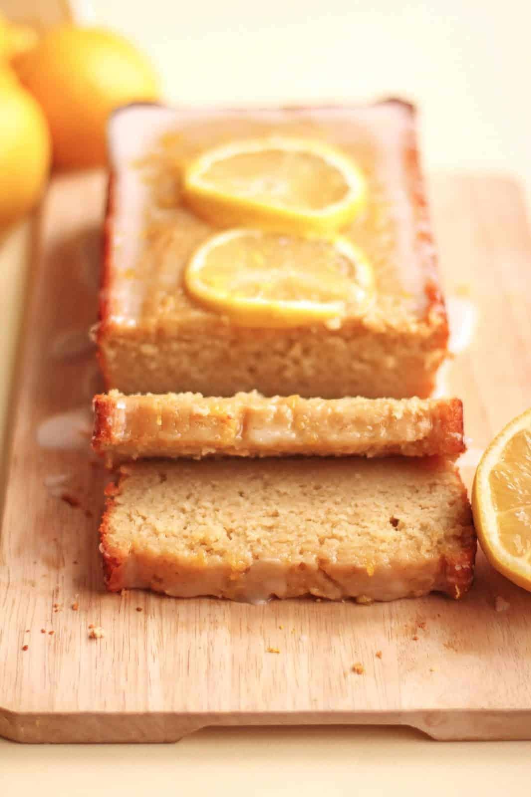 Healthier Lemon Loaf Cake - Grandbaby Cakes