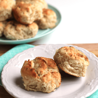 Big Mama's Biscuits Turned Up- Herb Cheese Biscuits