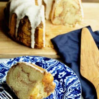 Cinnaon Roll Pound Cake 1 320x320 - Cinnamon Roll Pound Cake