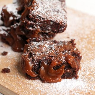 Dulce De Leche Brownies for #CincoDeMayo