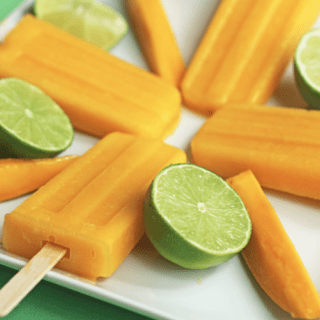 mango pineapple popsicles 1 320x320 - Mango Pineapple Popsicles
