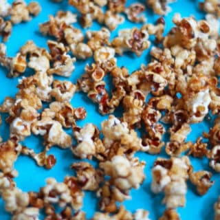 Healthy Babycake Caramel Apple Popcorn