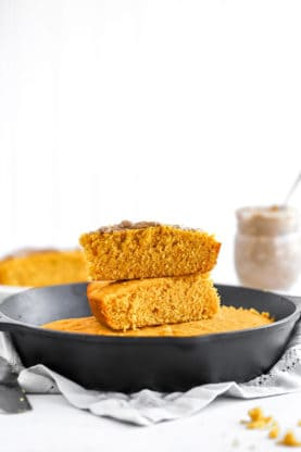 Pumpkin Cornbread 4 277x416 - Brown Butter Pumpkin Cornbread