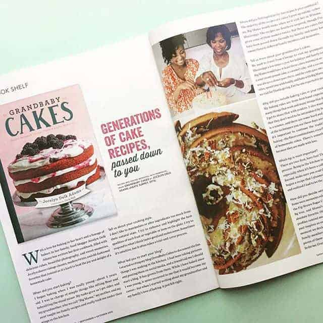 Taste of the South Magazine - Grandbaby Cakes Cookbook Feature