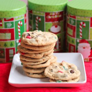 Great Food Blogger Cookie Swap Christmas Chip Cookies
