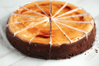 Eli's Hot Chocolate Cheesecake and Giveaway