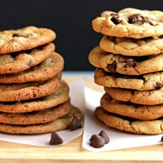 Perfect Chocolate Chip Cookies: Whether you prefer Crispy or Chewy, I've got the best ones! | Grandbaby Cakes