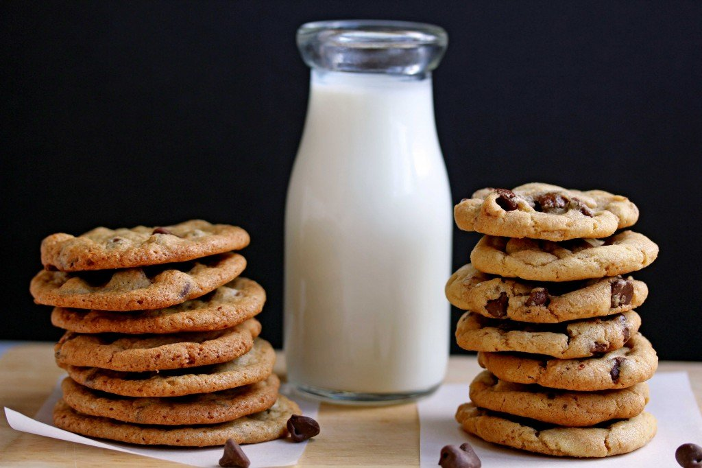 the everygirl chocolate chip cookies