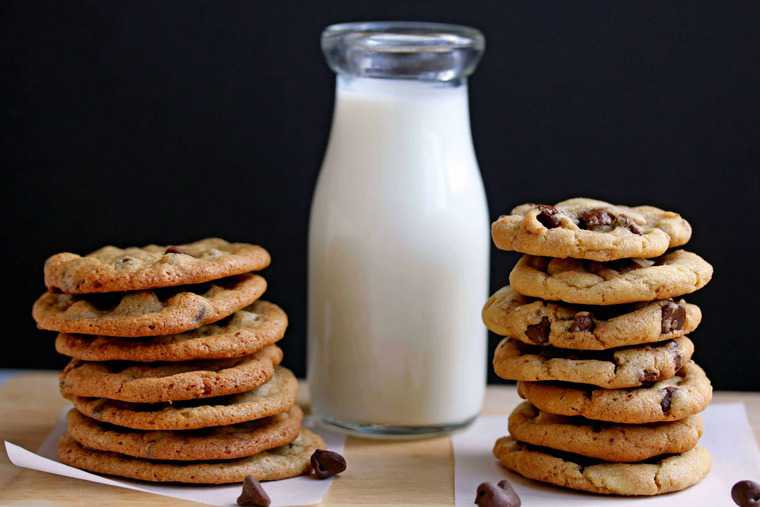 Perfect Chocolate Chip Cookies - Grandbaby Cakes