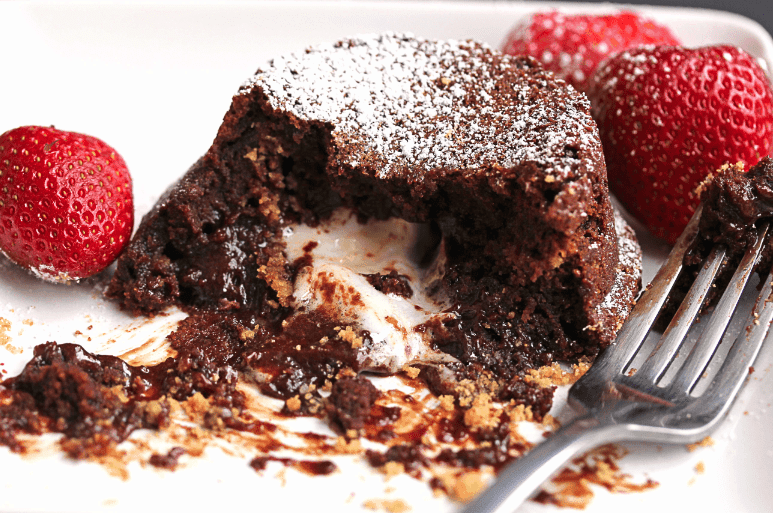 Screenshot 2014 02 04 07.29.24 - S'more Lava Cake