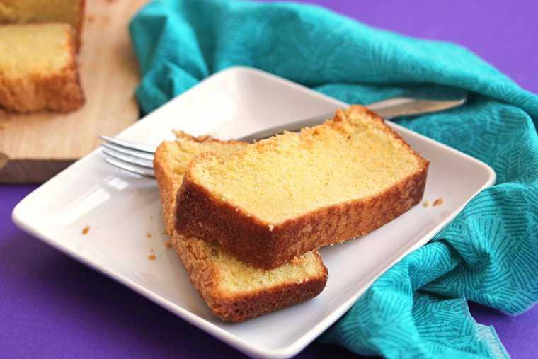 Brandy-and-Rum-Glazed Pound Cake Recipe — Dishmaps