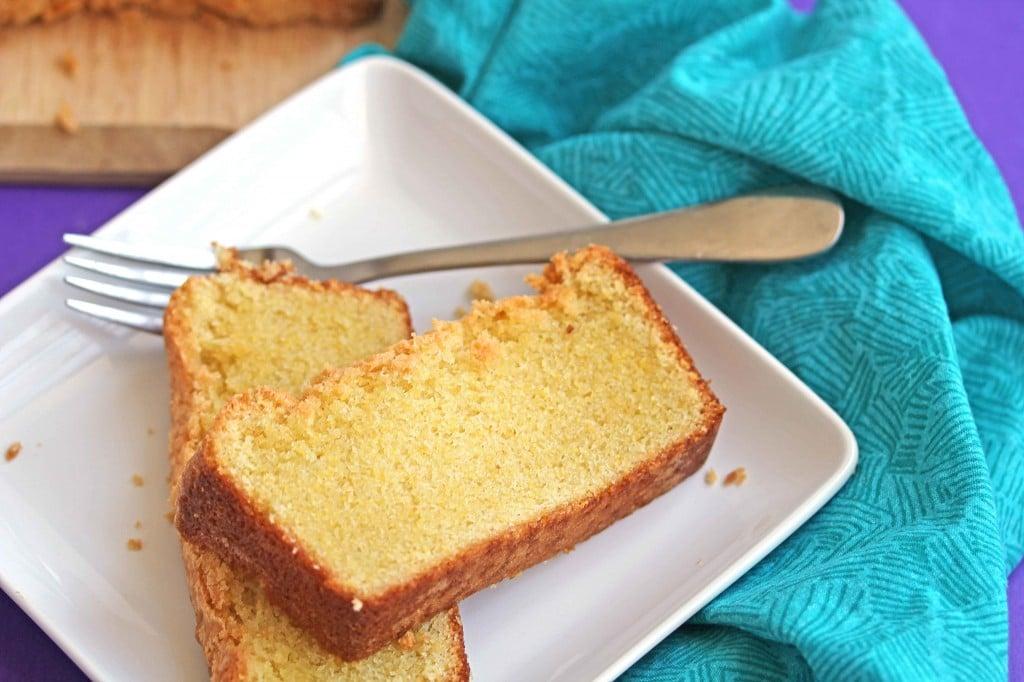 cornmeal pound cake