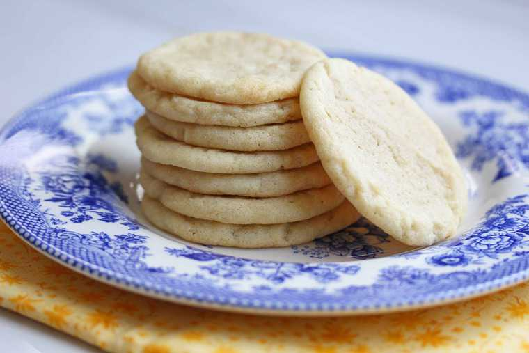 Recipe tea cakes cookies
