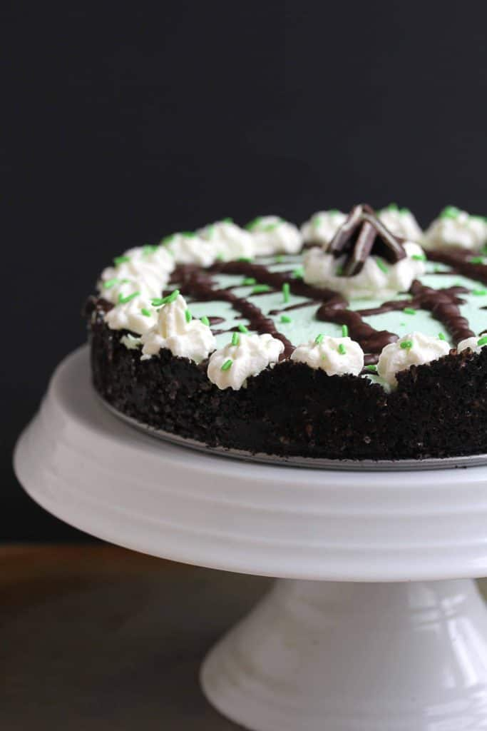 Baileys Mint Chocolate Cream Pie 2 683x1024 - Baileys Mint Chocolate Cream Pie