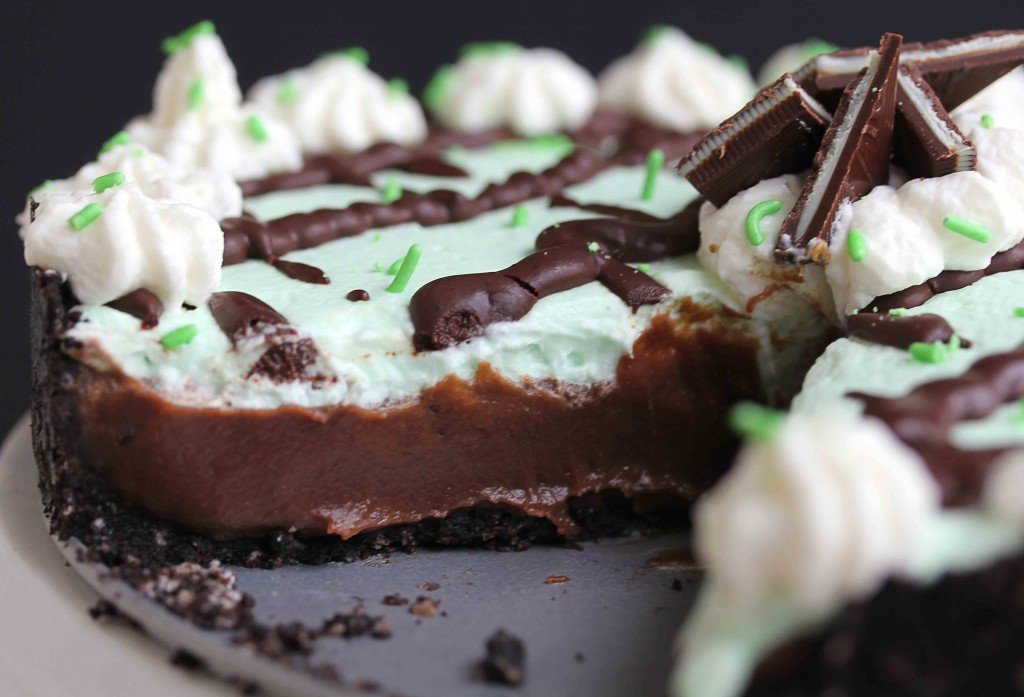baileys mint chocolate cream pie