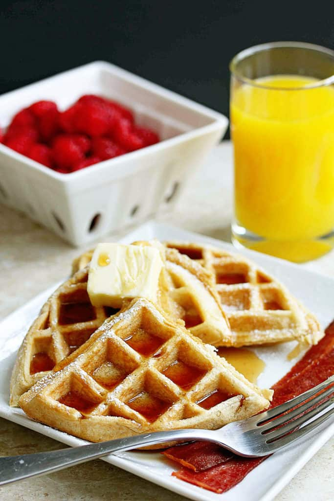 buttermilk waffles recipe 2 683x1024 - Buttermilk Waffles Recipe