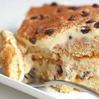 cookie dough tiramisu 2 320x320 - Chocolate Chip Cookie Dough Tiramisu