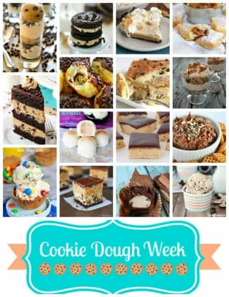 cookie dough wed round 600px - Chocolate Chip Cookie Dough Tiramisu
