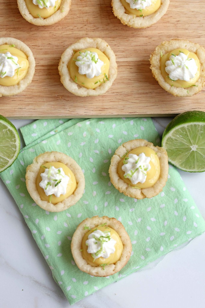 Key Lime Pie Cookie Cups | Grandbaby Cakes