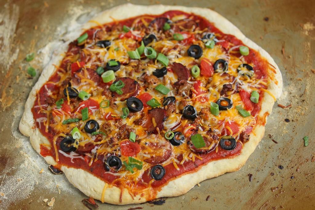 chorizo mexican pizza 1 1024x682 - Mexican Pizza Recipe