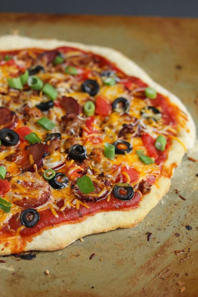chorizo mexican pizza 2 682x1024 - Mexican Pizza Recipe