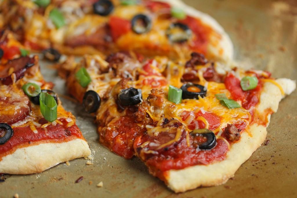 chorizo mexican pizza 4 1024x682 - Mexican Pizza Recipe