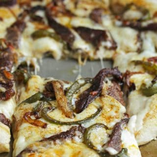 philly cheesesteak pizza 21 320x320 - Philly Cheese Steak Pizza