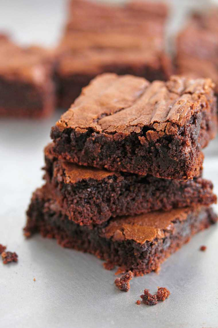 Chewy Brownies Recipe Dishmaps