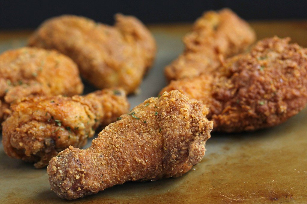 The best fried chicken recipe on display.