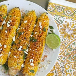 mexican corn on the cob 2 320x320 - Mexican Grilled Corn on the Cob
