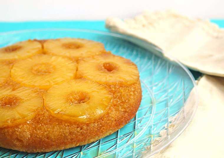 pineapple upside down cake2 - Pineapple Upside Down Cake
