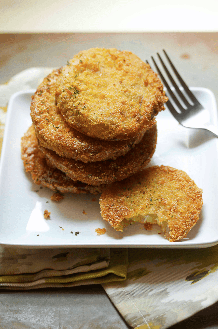 Southern Fried Green Tomatoes Recipe | Grandbaby Cakes