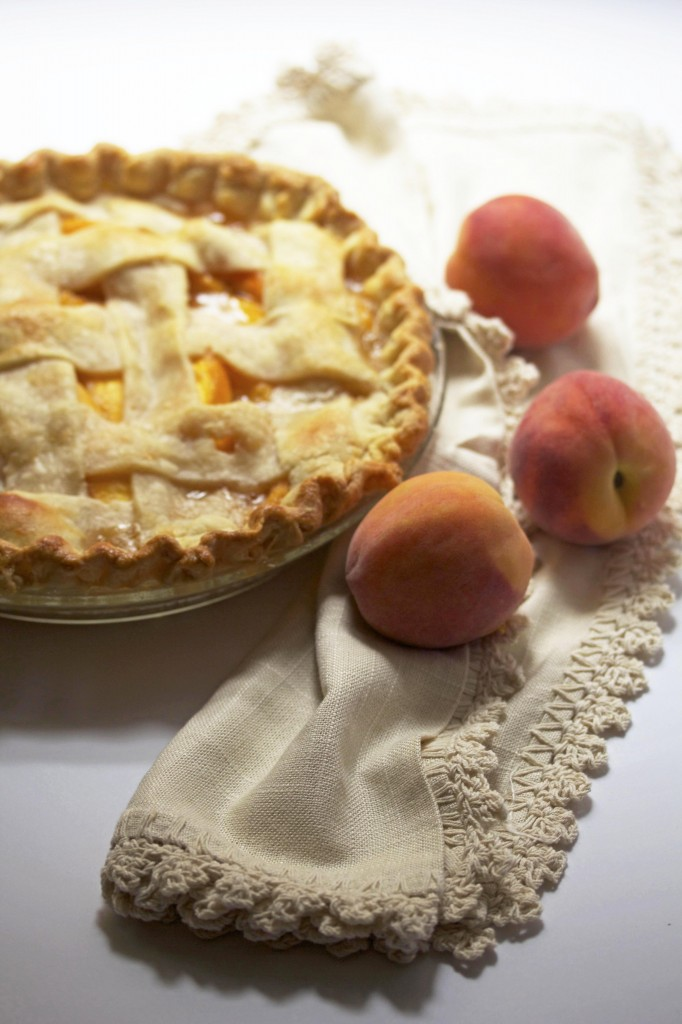 Fresh Peach Pie - Grandbaby Cakes