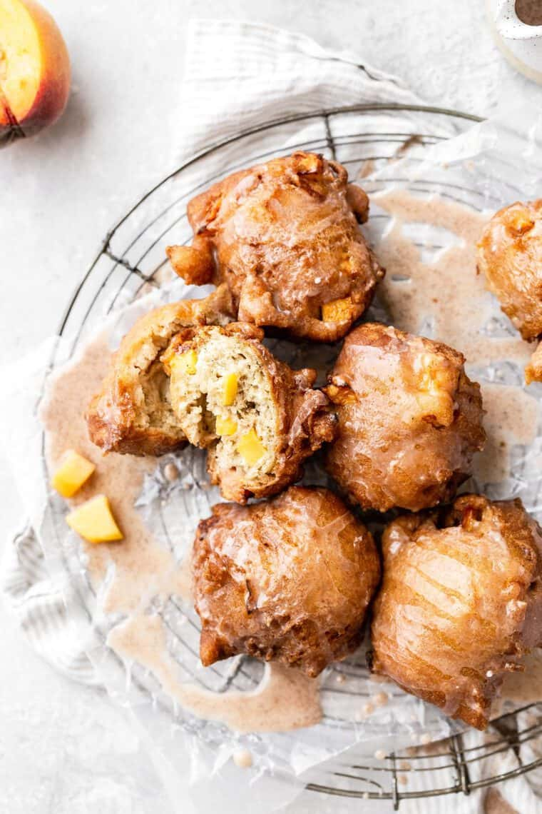 Peach Fritters Recipe 5 e1562687245789 - Peach Fritters Recipe