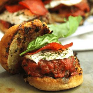 Italian Sausage Pizza Sliders