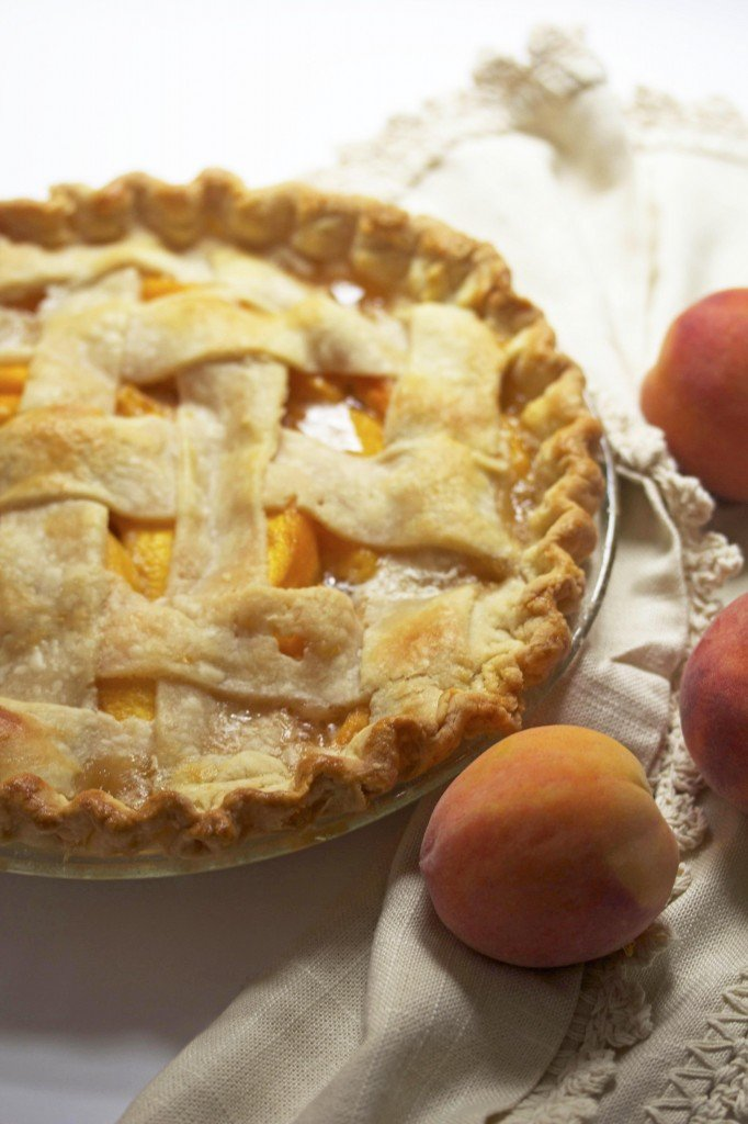 Fresh Peach Pie Recipe — Dishmaps