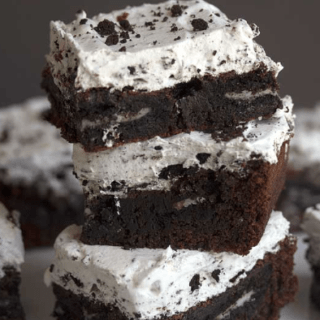 cookies and cream brownies