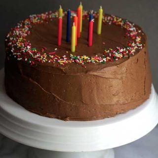Chocolate Birthday Cake (Chocolate Cake Recipe)