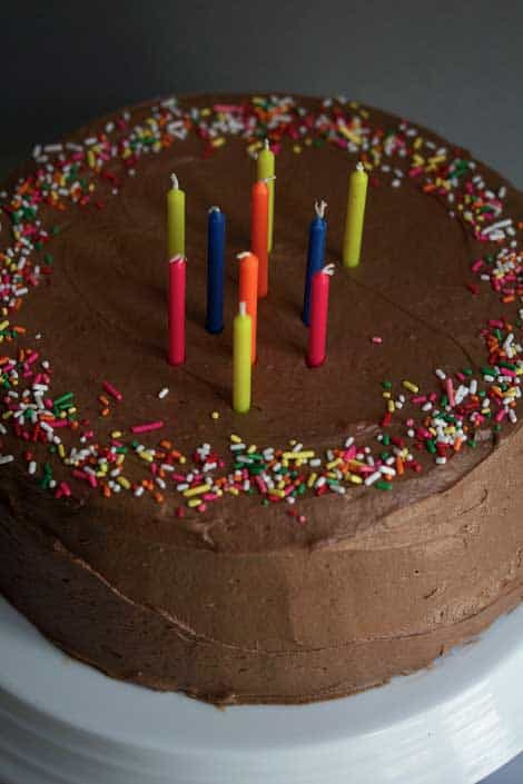 Chocolate Birthday Cake - Chocolate Cake Recipe