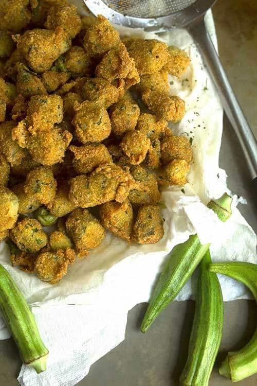 "Okra ""Fries"" Recipes — Dishmaps"