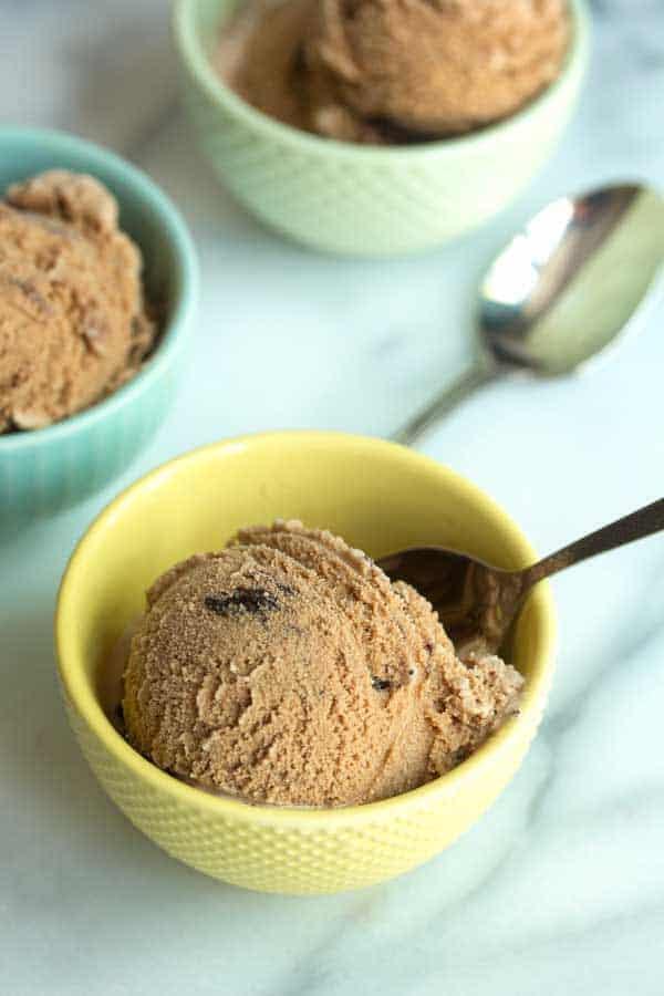 Mocha Fudge Swirl Ice Cream | Grandbaby Cakes