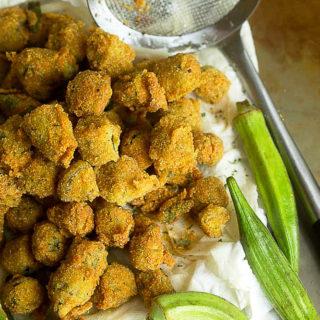 Pan Fried Okra Recipe